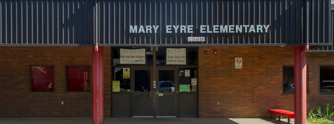 Eyre Elementary front exterior