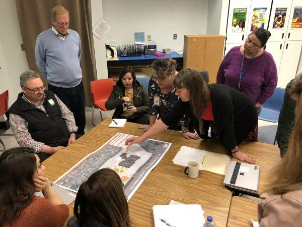 Eyre design team meeting